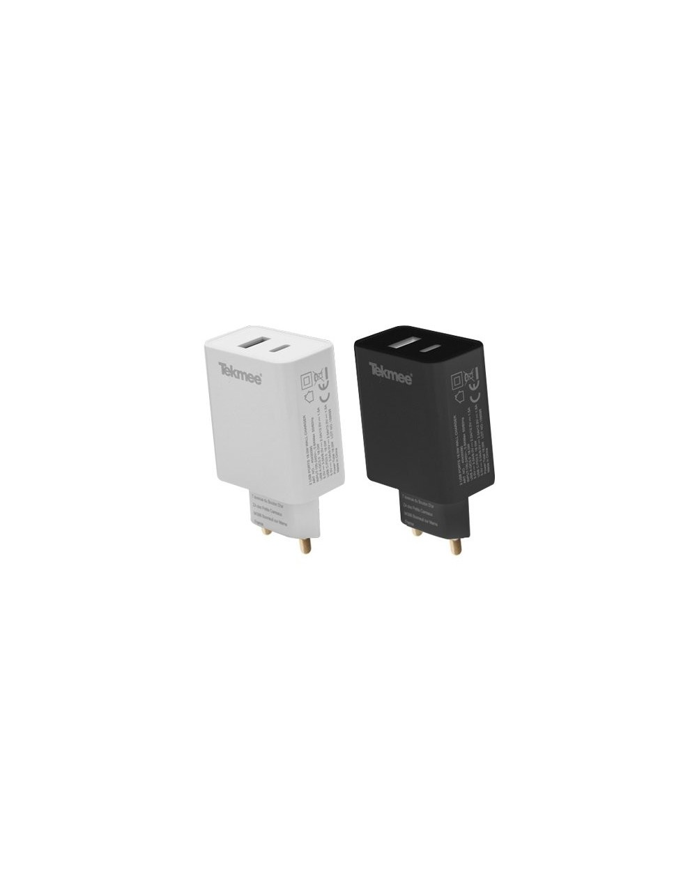 Wall Fast Charger USB 3.0 and Type-C - Tekmee-1