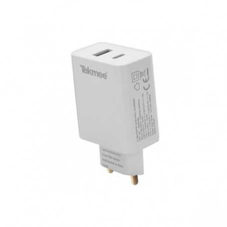 Wall Fast Charger USB 3.0 and Type-C - Tekmee-3