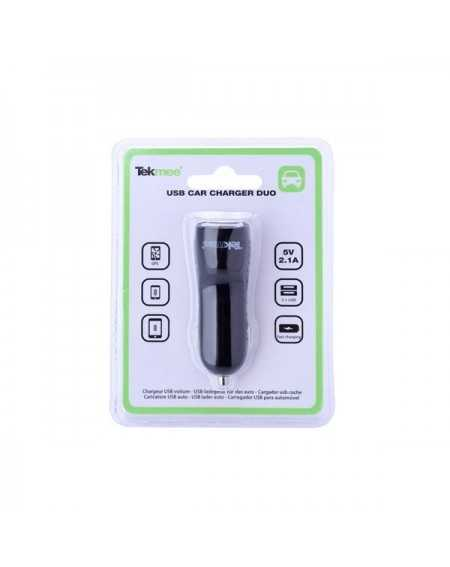 USB Car Charger Duo Ports 2.1A - Tekmee-5