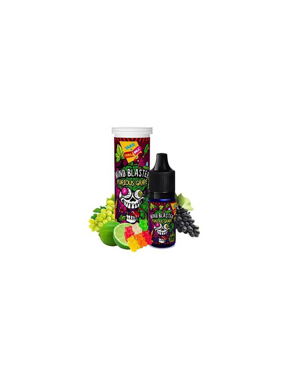 Concentrate Mind Blaster Furious Grape 10ml - Chill Pill-1