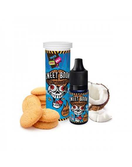 Concentré Sweet Boom Coconut Biscuit Roll 10ml - Chill Pill-1