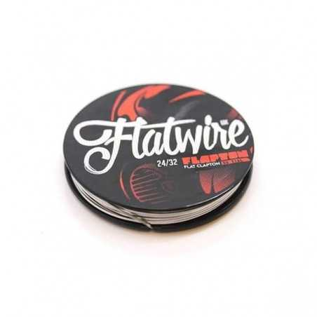 Flapton Flat Clapton Stainless 316L 24/32 AWG - Flatwire UK-2