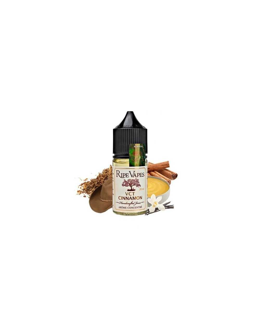 Concentrated aroma VCT Cinnamon 30ml - Ripe Vapes-1