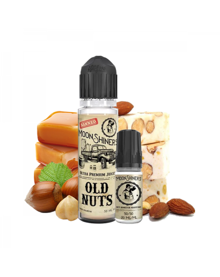 Pack Old Nuts 50ml + Booster - MoonShiners-1