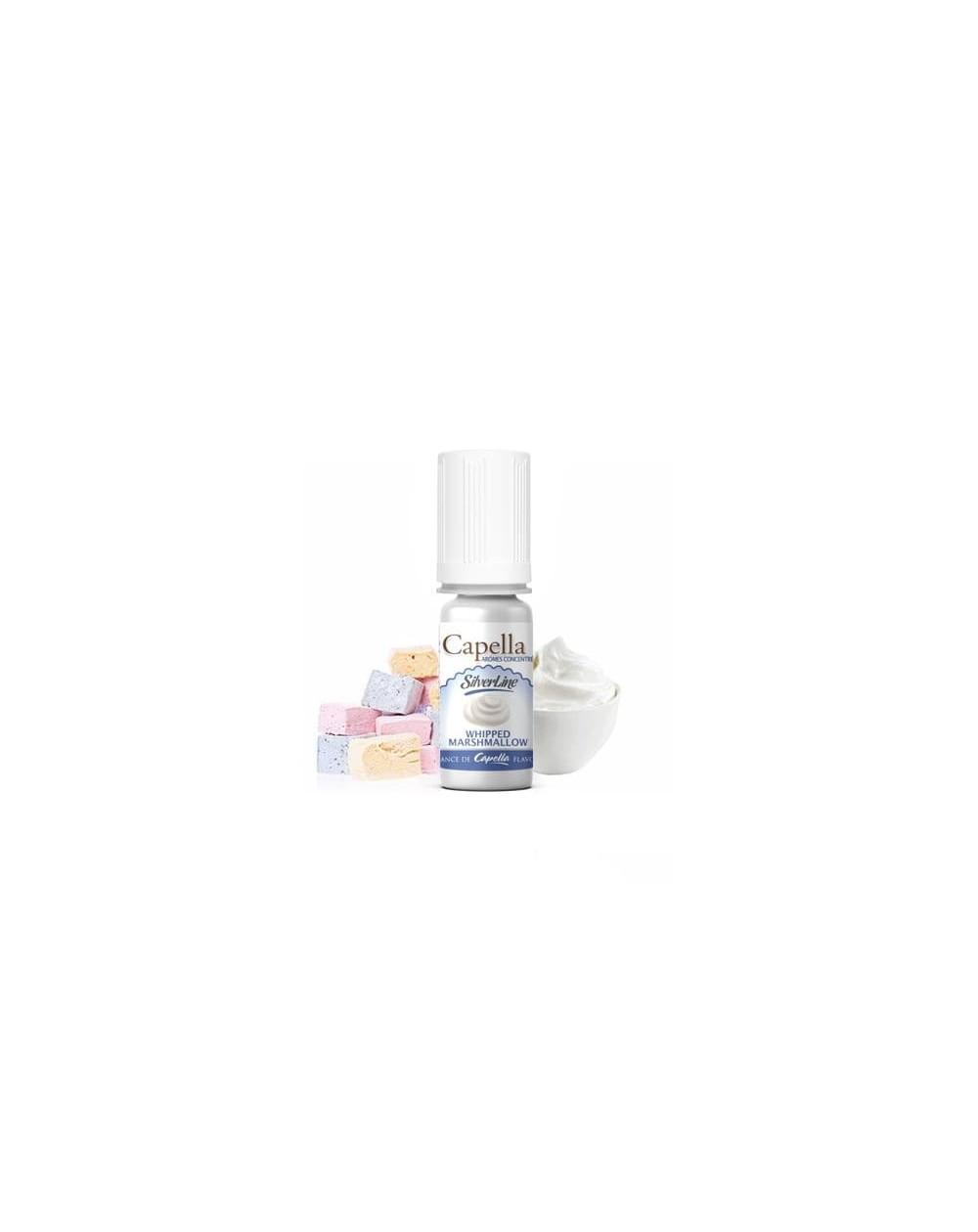 Photos de Concentrated aroma Whipped Marshmallow 10ml - Capella - 1